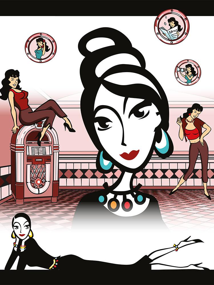 style click syrup fashion online shop web design